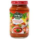 Овко Бебешка доматена супа с пиле и ориз 8м+ 220 гр. 5596